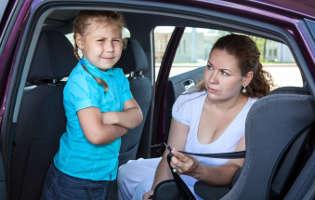 Uporaba varnostnega pasu in prevoz otrok
