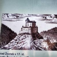 Grad Žovnek v 17. stoletju