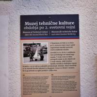 Muzej tehnične kulture obdobja po 2. svetovni vojni v Šmartnem ob Paki.