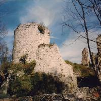 Žovneški grad leta 1996. Foto: M. Verdev
