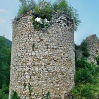 Ruševine Žovneškega gradu pred začetkom obnove. Foto: Iztok Omladič