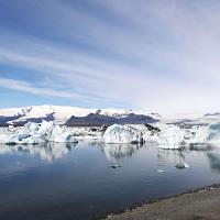 Klimatske spremembe se na Islandiji dogajajo pred našimi očmi - ledeniška laguna Jokulsarlon.