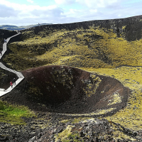 Vulkan Grabrokargigar oziroma krater Grabrok je kot naravni spomenik zaščiten od leta 1962.