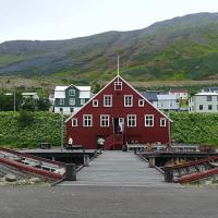 Muzej dobe slanikov v mestecu Siglufjordur - opomin, kam privede človeški pohlep in ropanje morja.