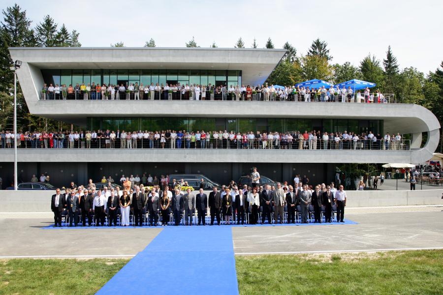 Otvoritev AMZS Centra varne vožnje na Vranskem 2008