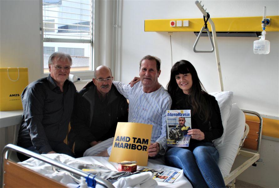 Udeleženec programa Ostanite mobilni Boris Sabolek (tretji z leve) si bo 14. november 2019 zapomnil kot ponovno rojstvo.