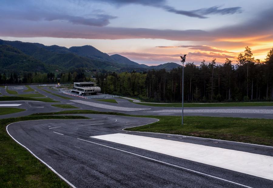 Najmodernejši center varne vožnje v tem delu Evrope