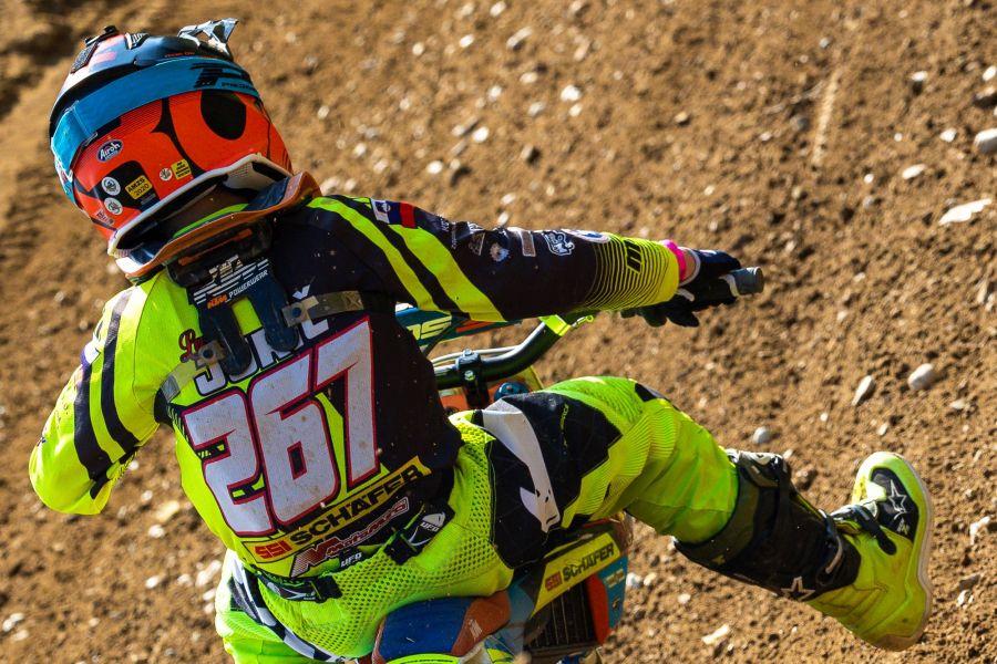 Luka Jurič jeosvojil 14 točk, kar mu je prineslo skupno 14. mesto na dirki.