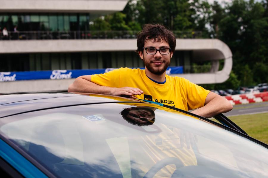 Klemen Pongračič, zmagovalec izbora Najboljši za volanom 2018