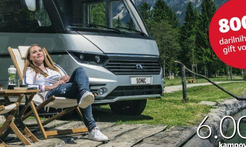 Vodnik kampov in PZA Evrope 2018 z 800 evri daril
