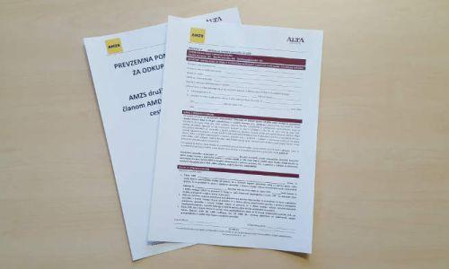 Prevzemna ponudba in prospekt za odkup delnic ciljne družbe AMZS d.d.