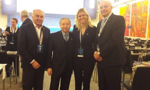 AMZS na letni generalni skupščini FIA