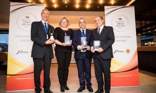 AMZS prejel FIA regija I nagrado za inovativnost