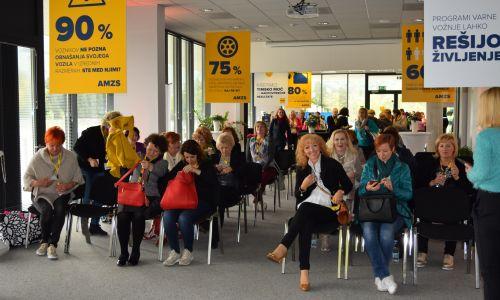 Aprilsko srečanje društva FAM v AMZS Centru varne vožnje na Vranskem