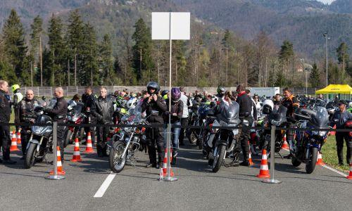 Raziskava za večjo varnost motoristov