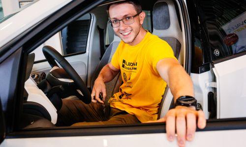Najboljši mladi voznik v Sloveniji in mladi AMZS ambasador varne vožnje je David Sever