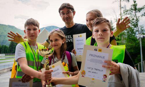 Zmagovalci AMZS izbora za FIA ETEC so mladi kolesarji AMD Moste