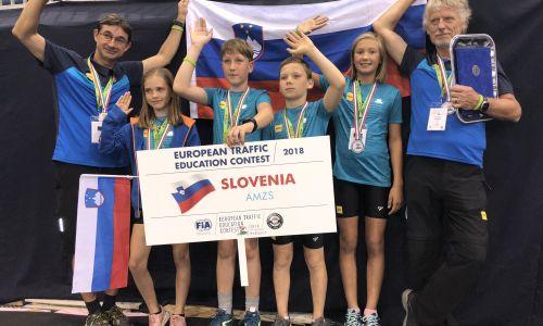 Mladi kolesarji iz AMD Moste deveti v Evropi