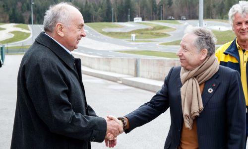 Predsednik FIA Jean Todt obiskal AMZS