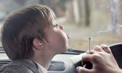 Kajenje v avtu je škodljivo
