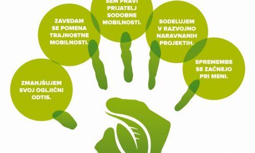 AMZS se zaveda pomena trajnostne mobilnosti in skrbi za zeleno prihodnost