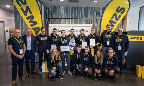 Trije najboljši mladi vozniki oktobra na mednarodno tekmovanje na Poljsko