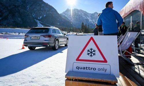 Bralci Motorevije uživali na Audi quattro zimskem doživetju v Planici