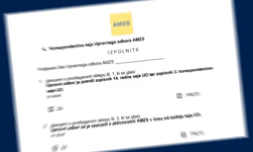 Upravni odbor potrdil nerevidirano Poročilo AMZS o poslovanju za leto 2019