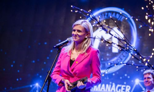 Mlada managerka leta je direktorica družbe AMZS Lucija Sajevec