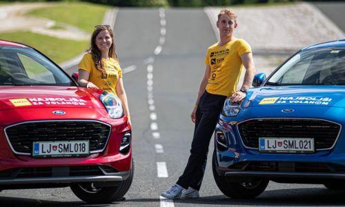 Najboljša za volanom 2020 sta Petra Prašnikar in Matej Gorjan