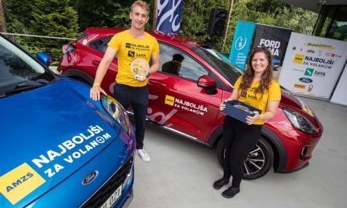 Pogovor z najboljšima mladima voznikoma Slovenije 2020 Matejem in Petro