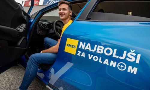 AMZS znova izbira najboljšega mladega voznika in voznico Slovenije