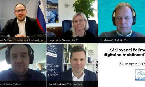 Si Slovenci želimo digitalne mobilnosti?