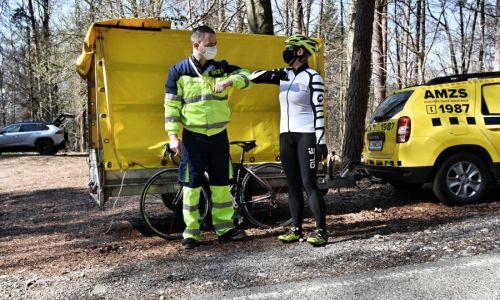 AMZS odslej pomaga tudi kolesarjem