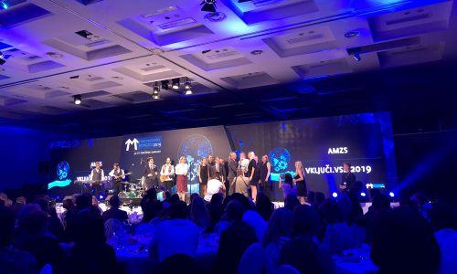 Družba AMZS prejela priznanje Združenja Manager – Vključi.Vse