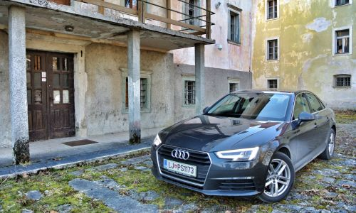 Test: Audi A4 TDI (110 kW) base
