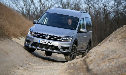 Za volanom: VW caddy alltrack
