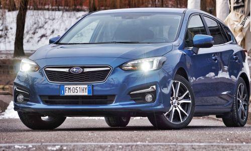 Test: Subaru impreza 1.6 lineartronic AWD style navi