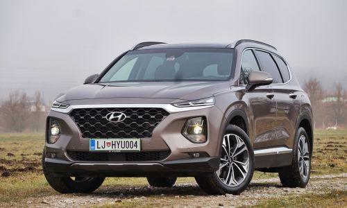 Test: Hyundai santa fe 2.2 CRDi avt. 4WD impression