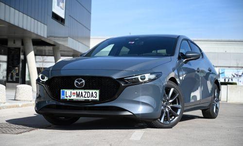Test: Mazda 3 G122 plus
