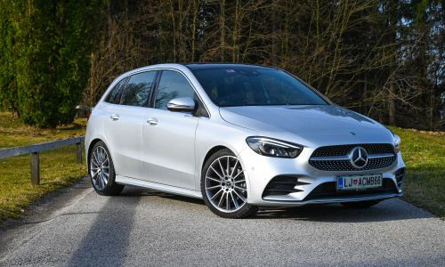 Test: Mercedes-benz B 180 d AMG line