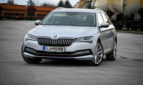 Kratek test: Škoda superb combi 2.0 TDI DSG style
