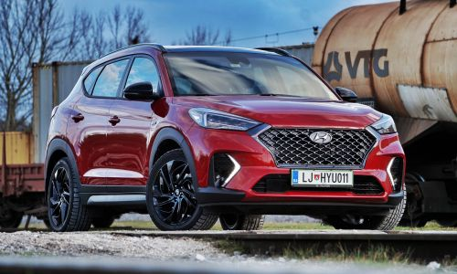 Kratek test: Hyundai tucson 1.6 CRDi 7DCT 4WD impression N-Line