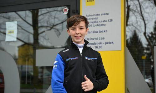 Pogovor: Mark Kastelic, uspešen mladi kartist