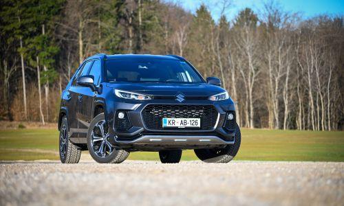 Test: Suzuki across 2,5 HSD elegance e-four plug-in hybrid