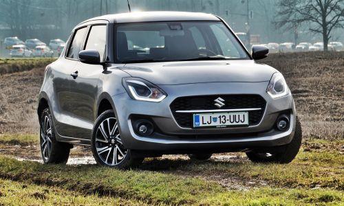 Kratek test: Suzuki swift 1.2 dualjet hibrid allgrip elegance