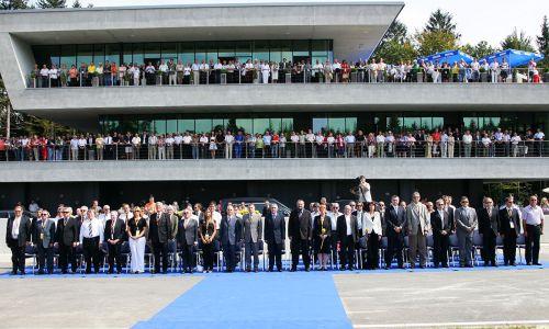 Otvoritev AMZS Centra varne vožnje na Vranskem