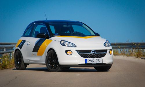 Kratek test: opel adam 1.4 start & stop jam (motorsport edition)
