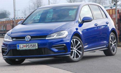 Kratek test: Volkswagen golf R-line 1,5 TSI ACT