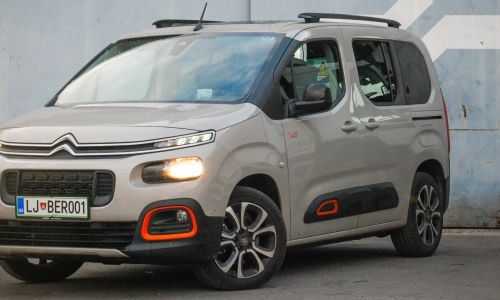 Test: Citroen berlingo shine M 1.5 BlueHDi 130 S&S